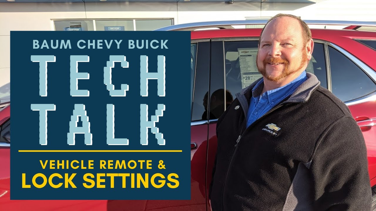 Chevy Buick Lock Horn And Remote Settings Baum Chevy Buick Clinton Il Tech Talk Youtube
