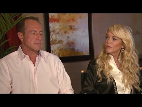 WATCH: Dina and Michael Lohan Go to Therapy Together