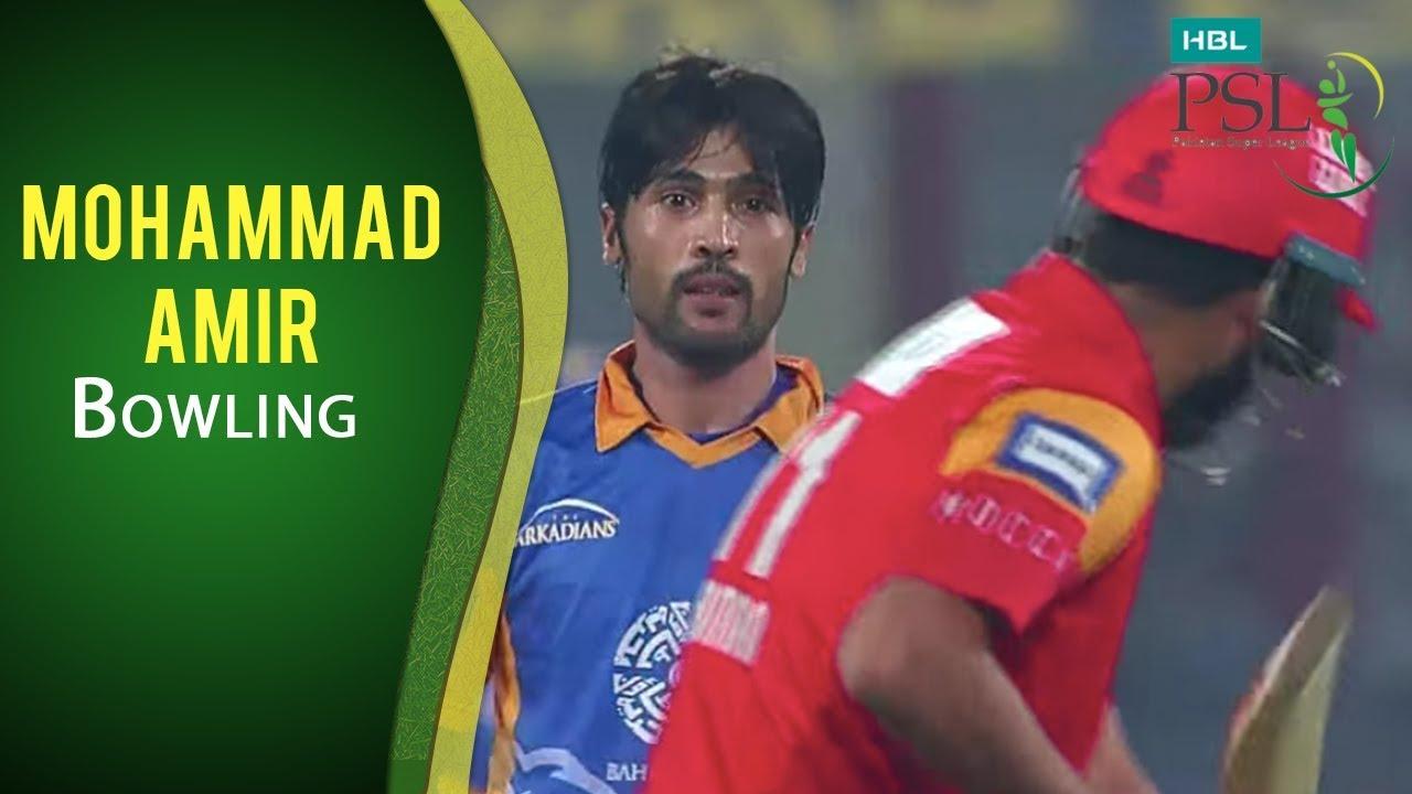 Download PSL 2017 Playoff 2: Karachi Kings vs. Islamabad United - Mohammad Amir Bowling