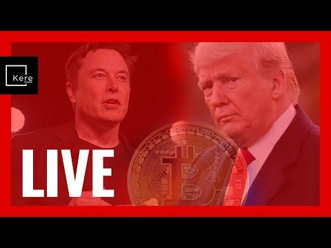 LIVE - Trump gana / Bitcoin a $70.000 / Red Social Elon Musk