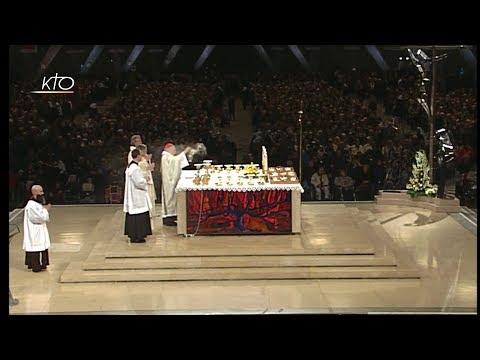 Messe de la fête de Notre-Dame de Lourdes suivie de l'angélus