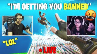 I spent 10 MIN trying to get BANNED on Fortnite (MAD)