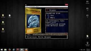 Obtener todas las cartas en Yugioh! Forbidden Memories PS1 Emulador Psxfin