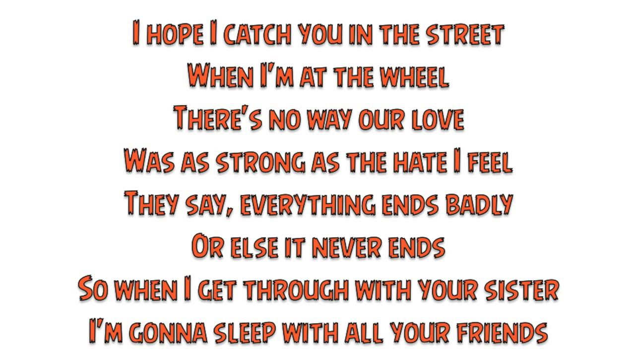 I Want to Go to Hell Lyrics & Tabs by Hocico - LyricsOchordS