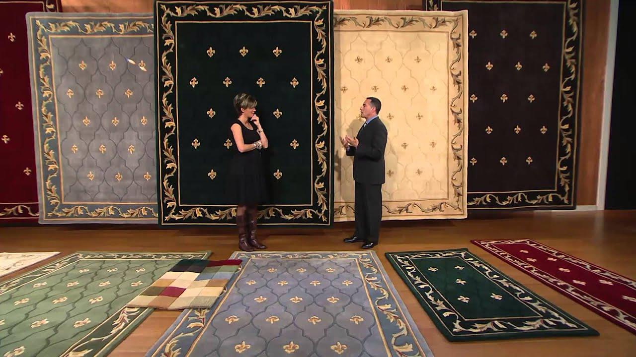 Royal Palace Special Edition Fleur De Lis 3 X 5 Wool Rug