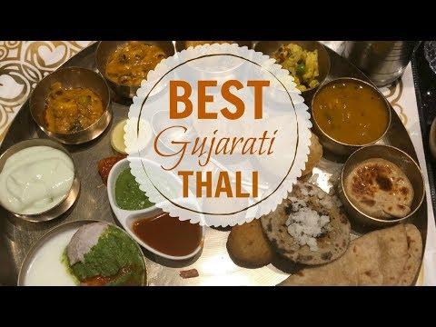Best Gujarati Thali in Ahmedabad | Gordhan Thal - YouTube