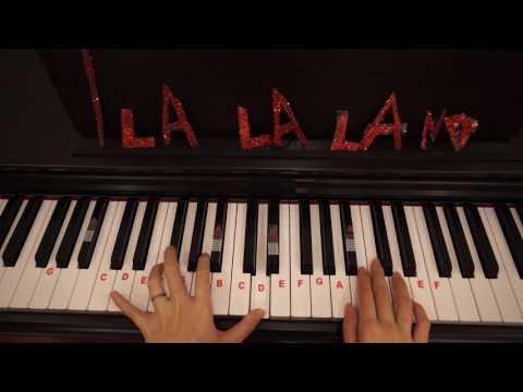 How to Play City of Stars - LA LA Land    Easy Piano tutorial    Part 1