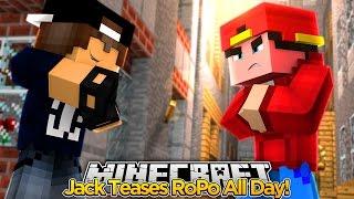 Minecraft Adventure - JACK BURNS ROPO ALL DAY!!!