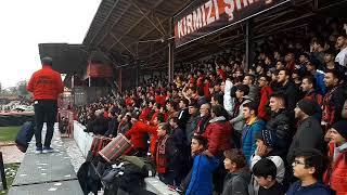 ÇORUMSPOR-KOCAELİSPOR KIRMIZIŞİMŞEKLER TRİBÜN KLİBİ.(18.11.2018)