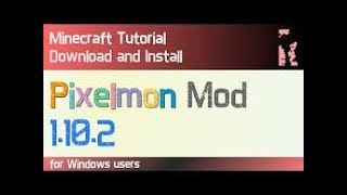 How to install PIXELMON after SHUTDOWN.100% Working