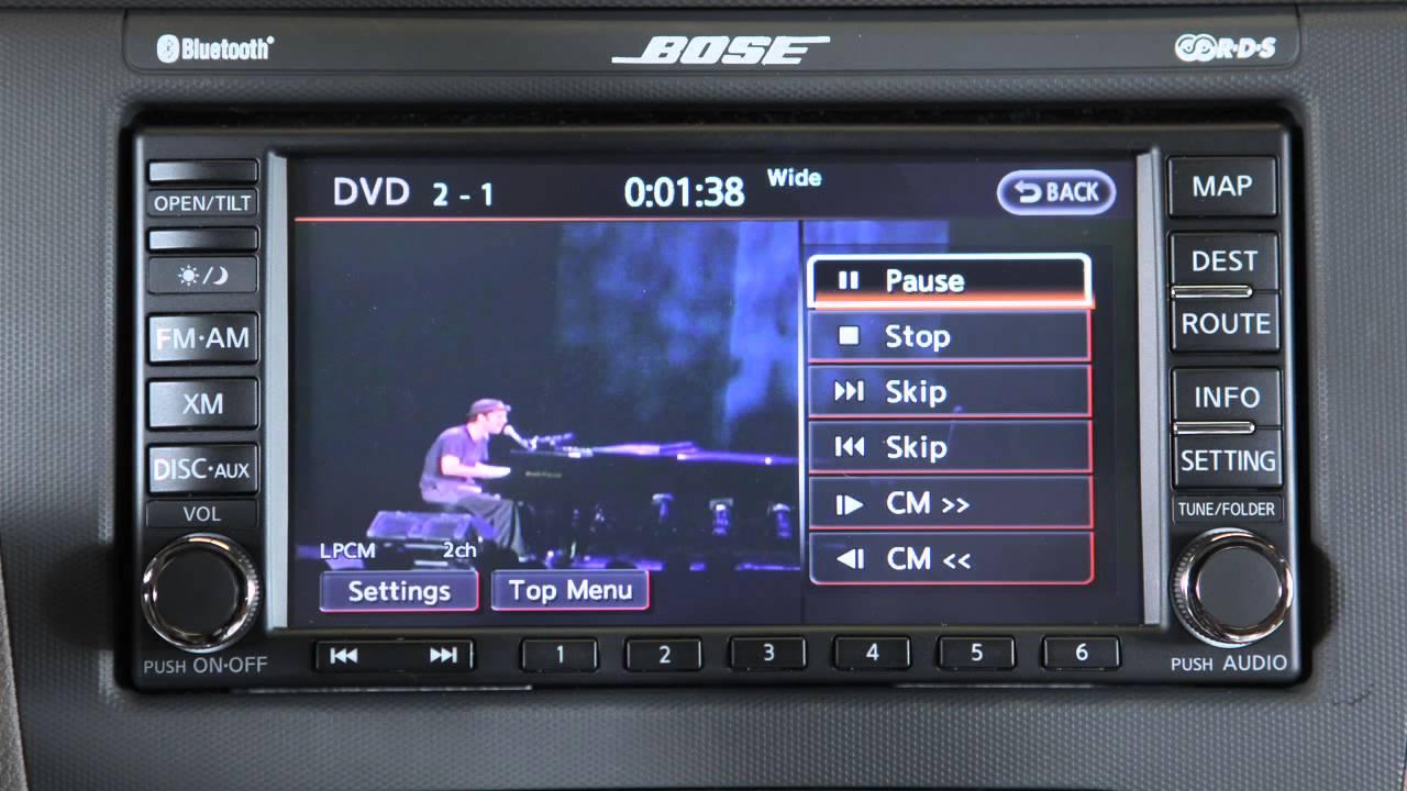 2012 nissan altima radio display not working