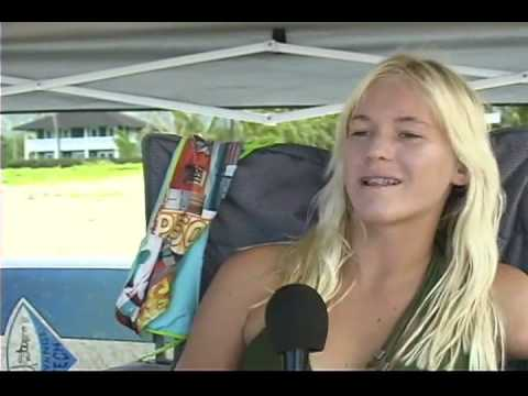 Bethany Hamilton Exclusive  right after shark attack