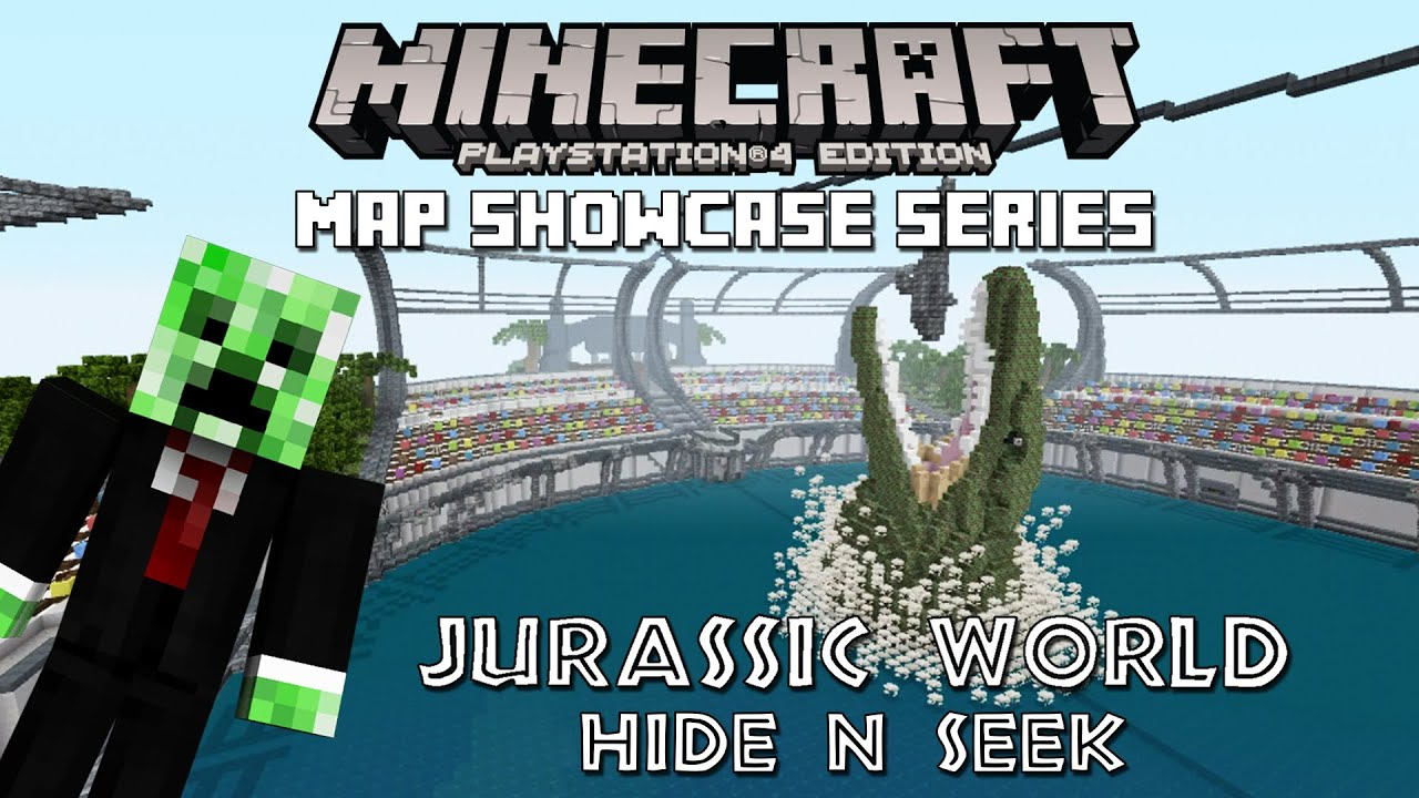 Ps3ps4 minecraft map showcase episode 93 jurassic world hide n ps3ps4 minecraft map showcase episode 93 jurassic world hide n seek gumiabroncs Gallery