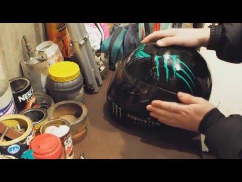#22 Замена визора на шлеме