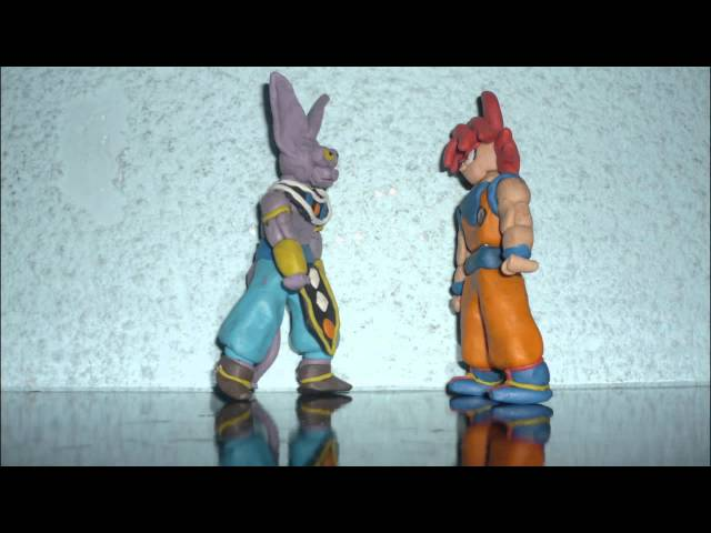 DBZ Goku vs Bills en plastilina Videos De Viajes