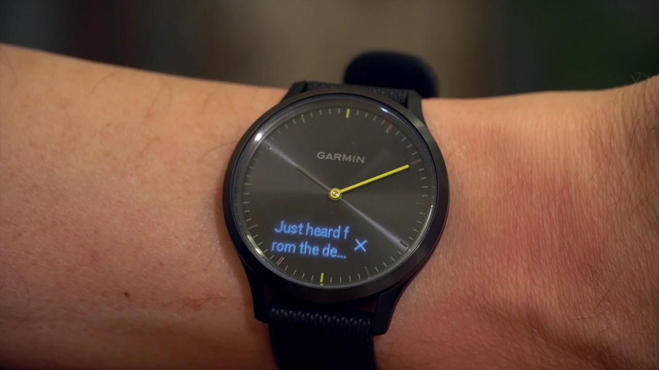 David Pogue review of analog smartwatches