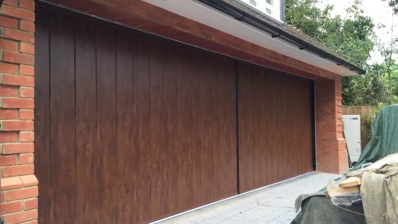 Sliding Gate For Garage Bi Parting Side Sliding Garage Door