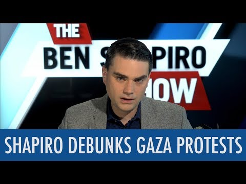 Shapiro Debunks Gaza Protests in 5 Minutes