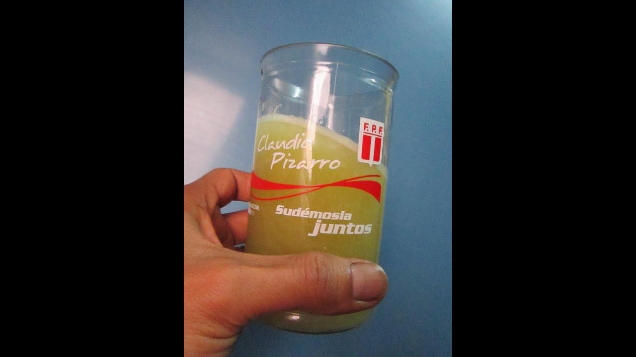 Como preparar agua de berenjena con limon