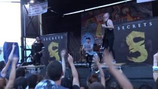 """Secrets """"Dance of the Dead"""" Warped Tour 6-25/16"""