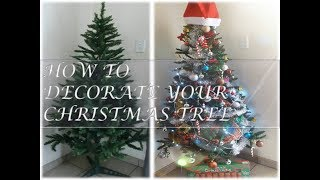 DECORATE WITH ME | HOW TO DECORATE A CHRISTMAS IN 3 EASY STEPS