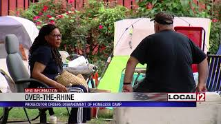 Hamilton County prosecutor says homeless camp in private park needs to move