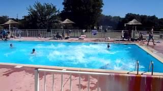 piscine camping domaine de gajan