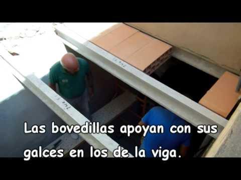 Forjado de hormig n youtube - Como construir un tejado ...