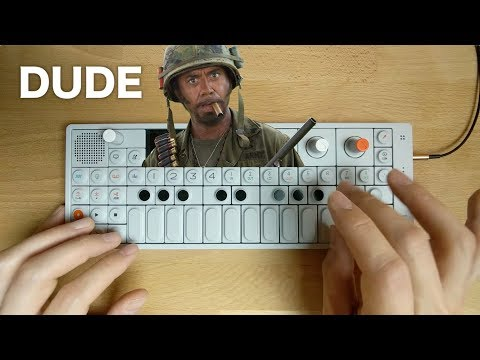 """""""I'M A DUDE!"""" — OP-1 Chill Remix Of RDJ In Tropic Thunder"""