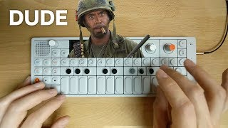 """I'M A DUDE!"" — OP-1 Chill Remix of RDJ in Tropic Thunder"