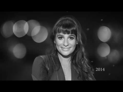 Lea Michele  10 years in 105 seconds