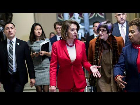 Trump cancels Pelosi's overseas trip due amid shutdown