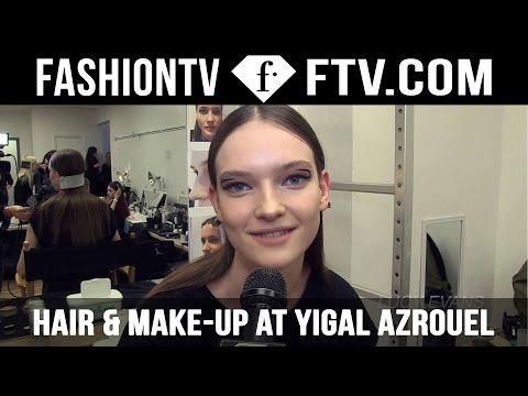Hair & Makeup Trends Yigal Azrouel F/W 15-16 | New York Fashion Week NYFW | FashionTV