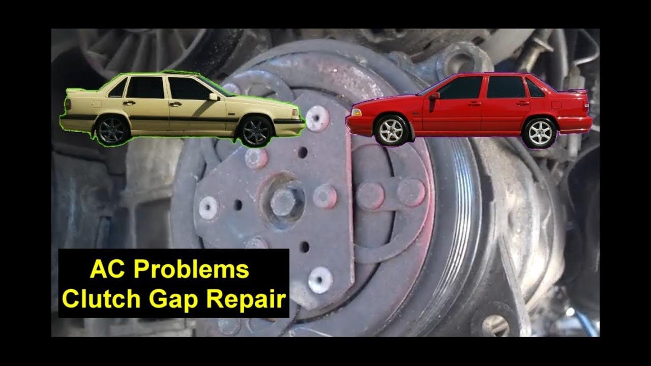 Ac Problems Compressor Clutch Repair Volvo 850 V70 S70