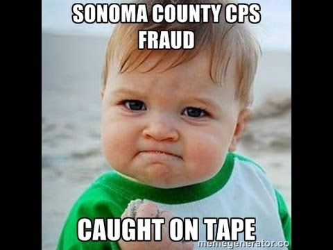 Sonoma County CPS Adoption Fraud Caught On Tape