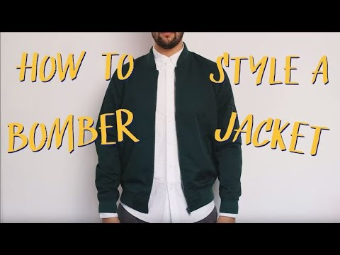 How to style a bomber jacket | James | ASOS Stylist