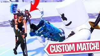 EVERYONE CAN JOIN!! CUSTOM MATCHMAKING & FREE WRAP! Fortnite Battle Royale