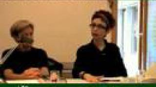 Avital Ronell and Judith Butler. Contemporaneity of Philosophy. 2006 1/3