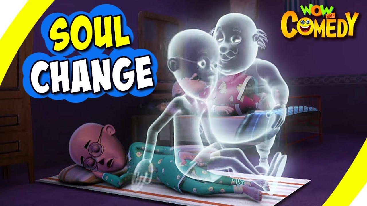 Download Motu Patlu- EP29 B | Soul Change | Funny Videos For Kids | Wow Kidz Comedy