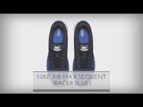 sprzedawca detaliczny tanie trampki kupuję teraz NIKE AIR MAX SEQUENT (RACER BLUE)/ SNEAKERS T - YouTube