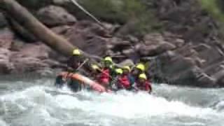 Whitewater Rafting Thailand: Wa River, Nan Province
