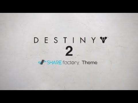 Destiny 2 SHAREfactory™ Theme (PS4)