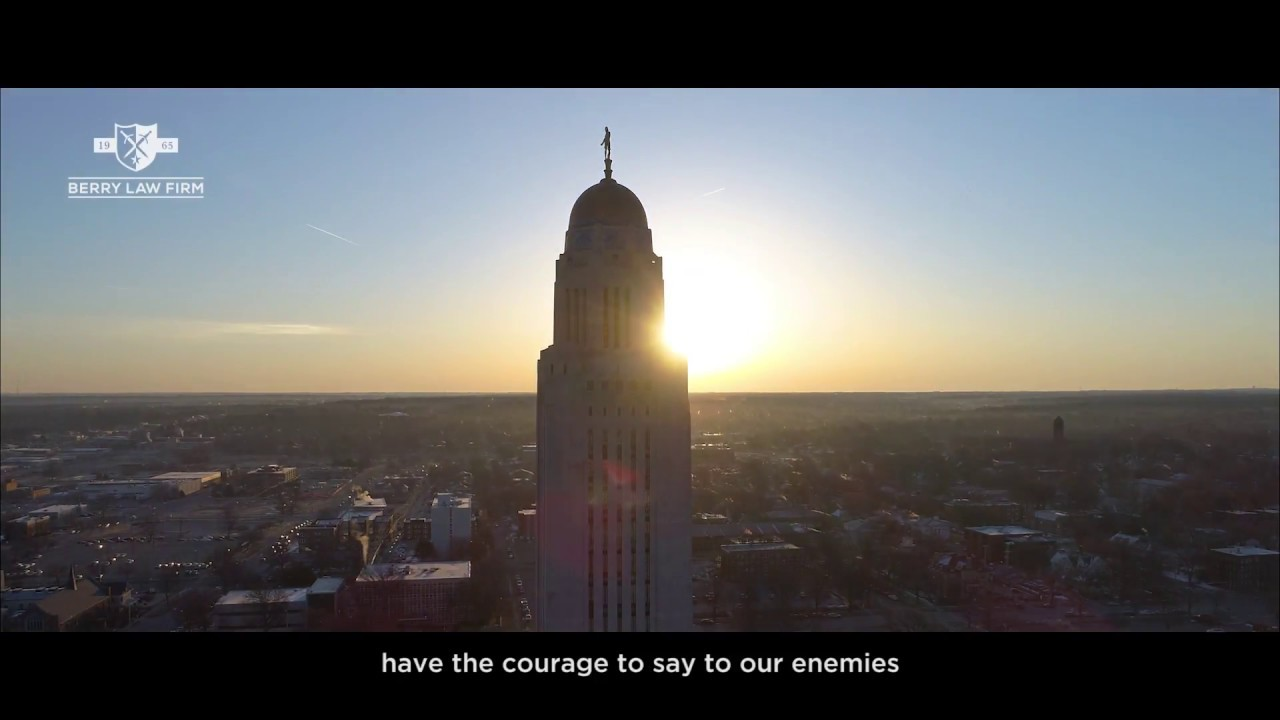 Berry Law Firm | Omaha & Lincoln Trial Lawyers - YouTube
