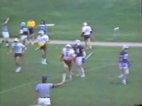 Franklin and Marshall vs. Swarthmore 1982 M.A.C. Lacrosse Championships