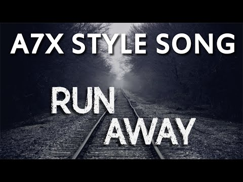 Avenged Sevenfold Style Song - Run Away (Instrumental)