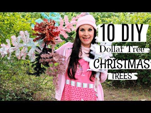 🎄10 DIY DOLLAR TREE CHRISTMAS TREES 🎄 ep. 2