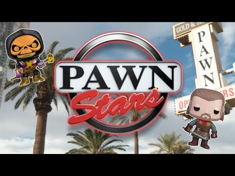 Funko Pops on Pawn Stars?