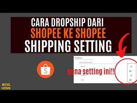 cara-dropship-dari-shopee-ke-shopee-shipping-setting