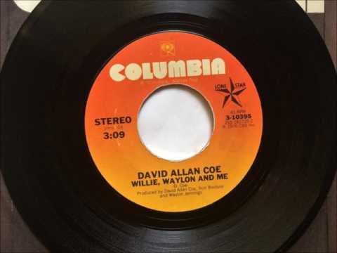 Willie Waylon And Me , David Allan Coe , 1976