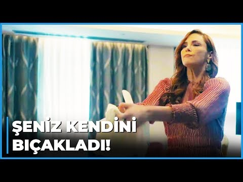 Şeniz İntikam Uğruna Kendini BIÇAKLADI! | Zalim İstanbul 28. Bölüm